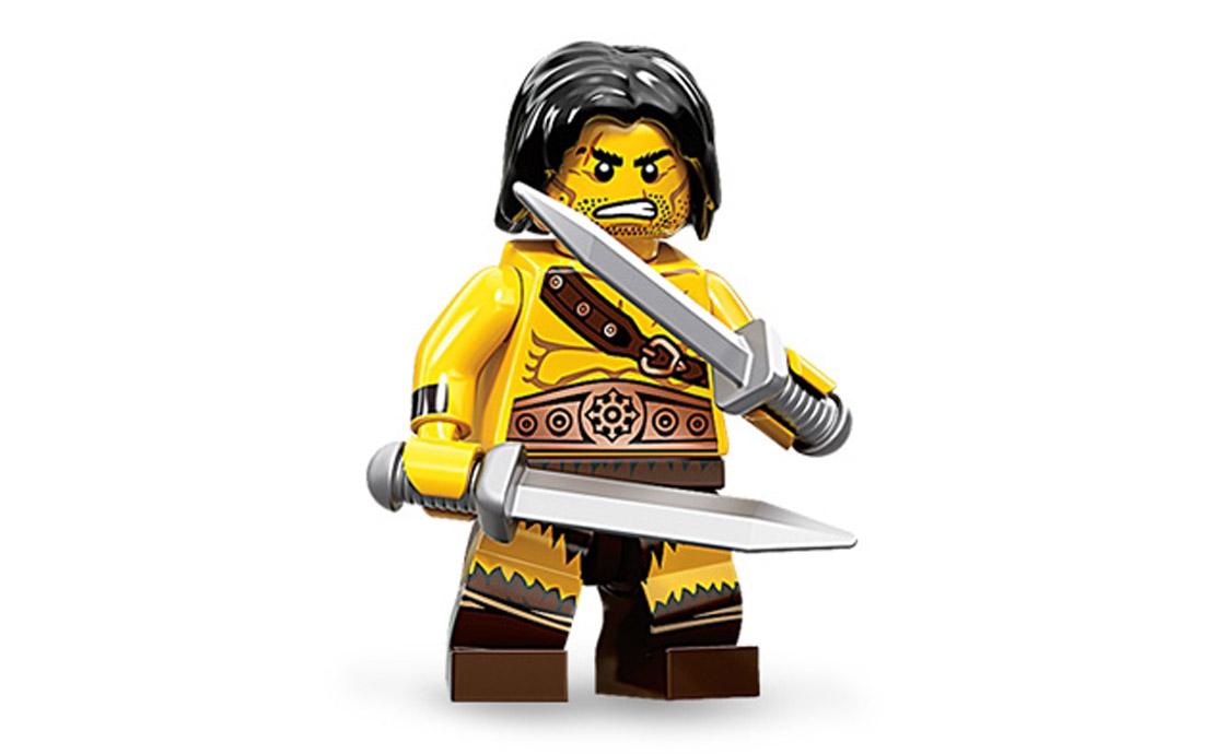 LEGO Minifigures Варвар (71002-1)