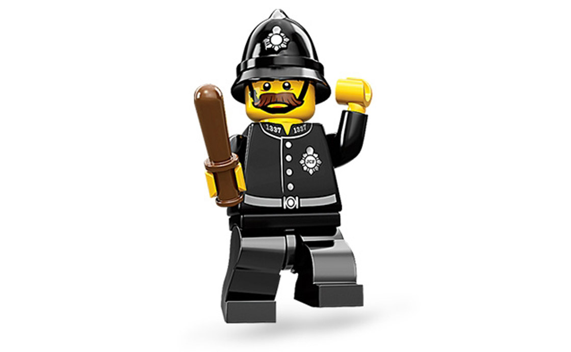 LEGO Minifigures Констебль (71002-15)