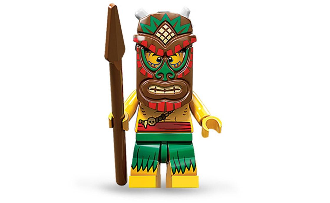 LEGO Minifigures Воин Тики (71002-5)