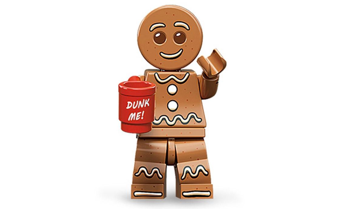 LEGO Minifigures Пряничный человечек (71002-6)