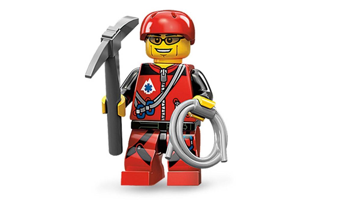 LEGO Minifigures Альпинист (71002-9)