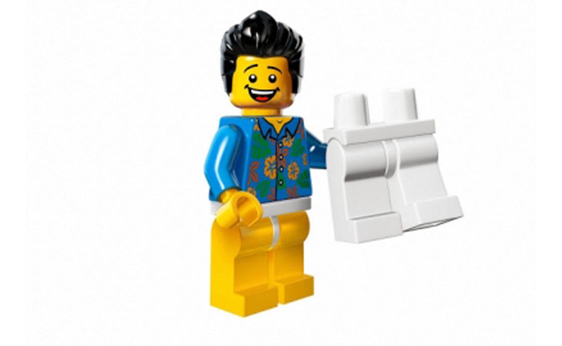LEGO Minifigures Парень со штанами (71004-13)
