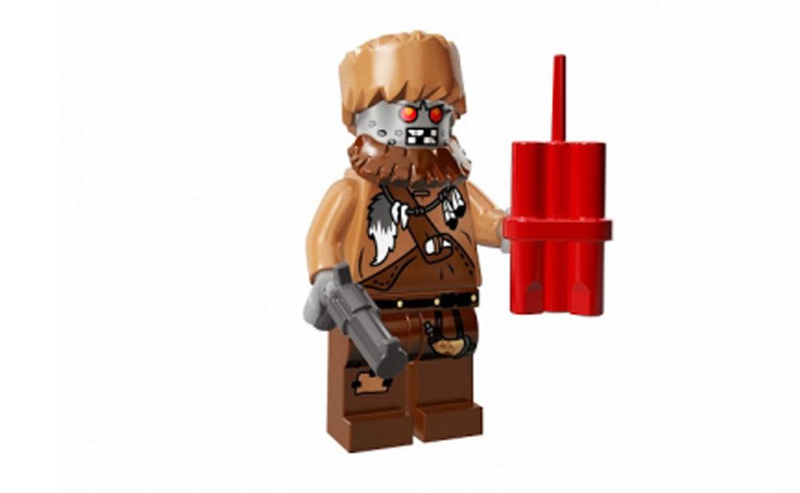 LEGO Minifigures Pобот - золотоискатель (71004-14)