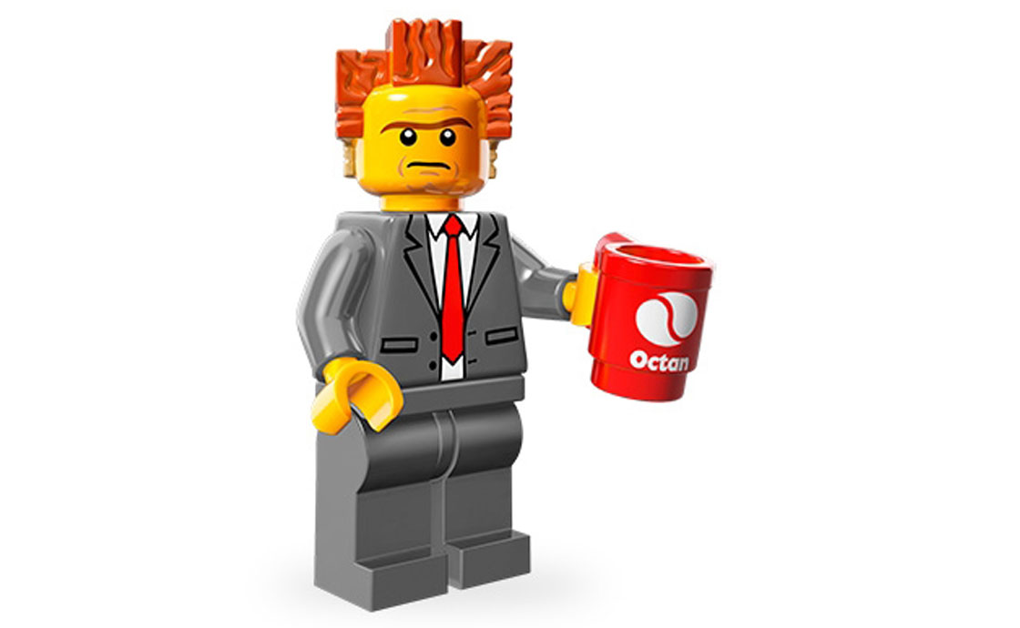 LEGO Minifigures Лорд Бизнес (71004-2)