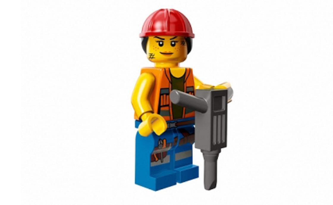 LEGO Minifigures Строитель Гейл (71004-9)