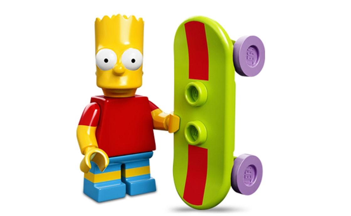 LEGO Minifigures Барт Симпсон (71005-2)