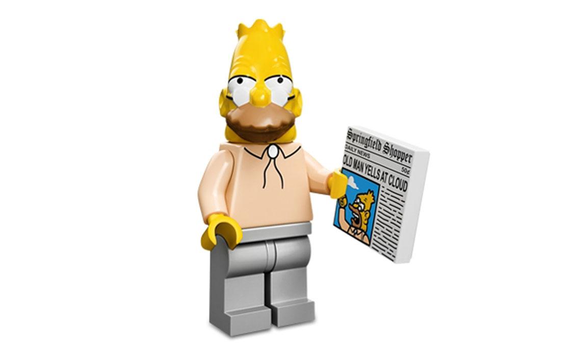 LEGO Minifigures Абрахам Симпсон (71005-6)
