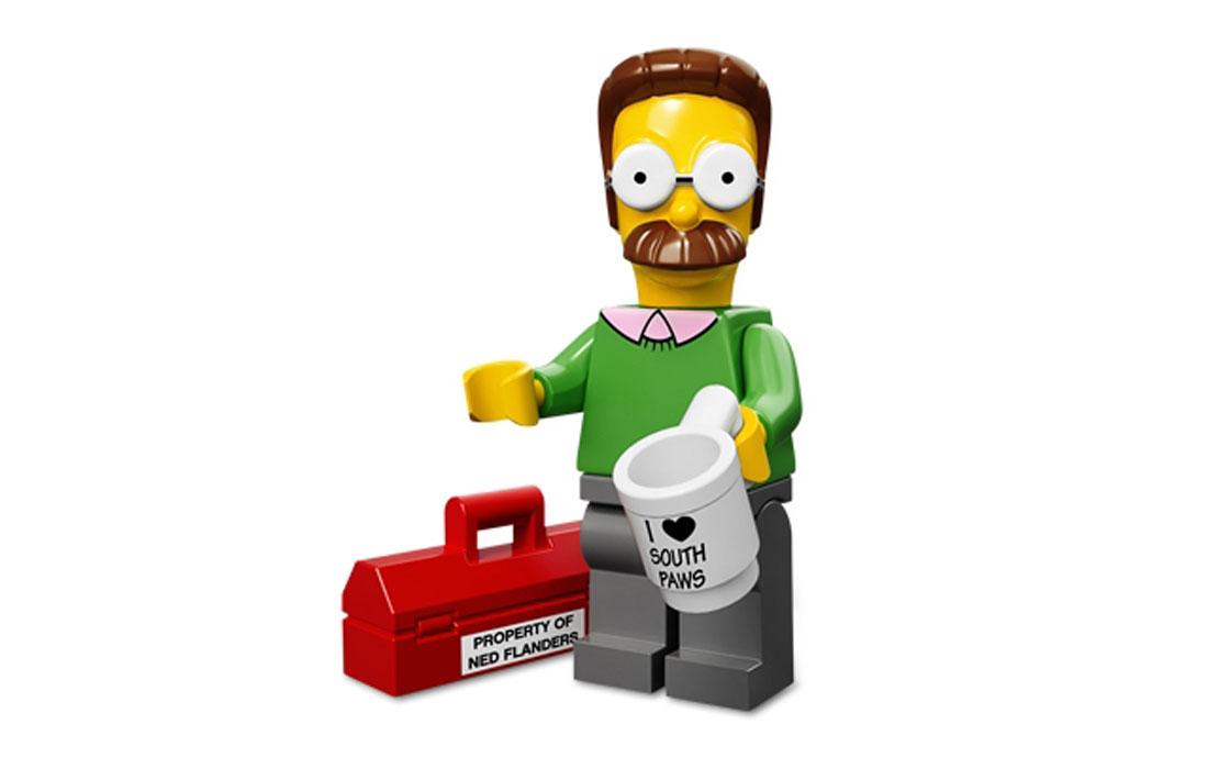 LEGO Minifigures Нэд Фландерс (71005-7)