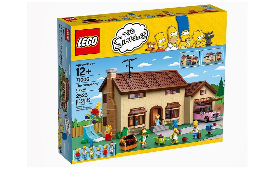 LEGO Simpsons Дом Симпсонов (71006)
