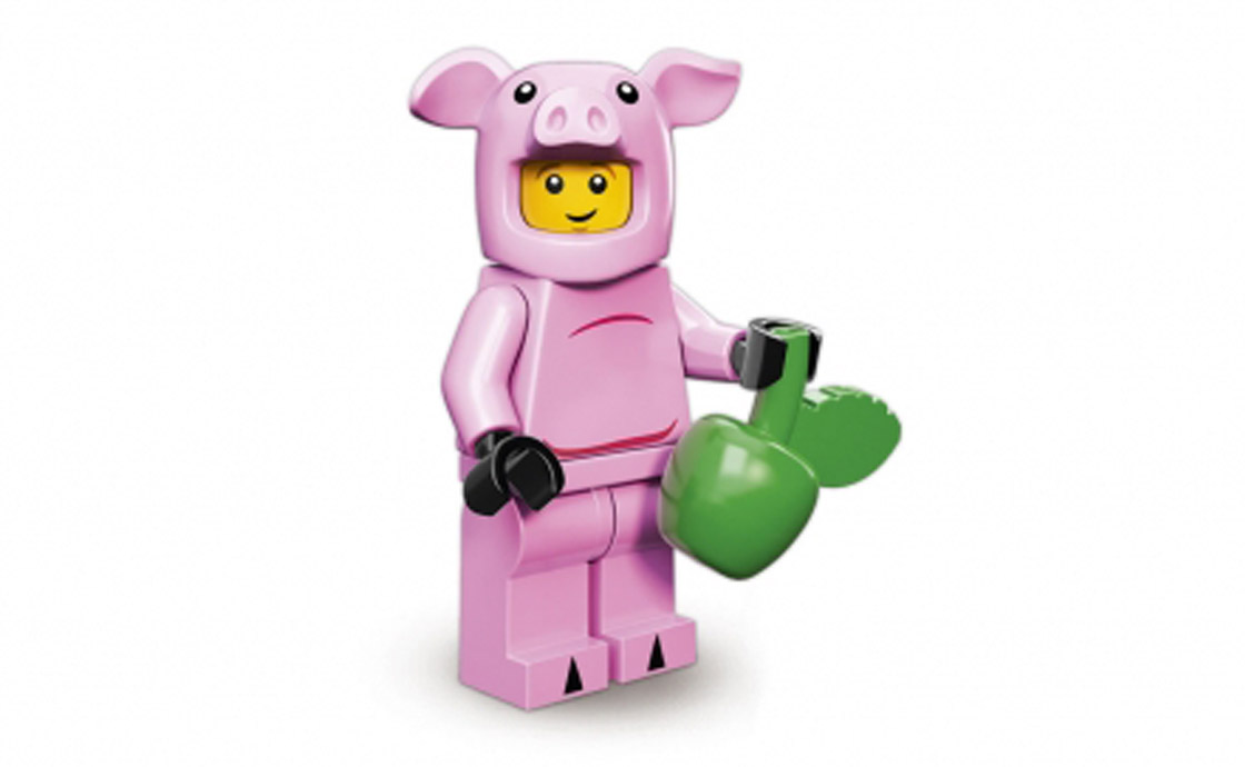 LEGO Minifigures Человек в костюме поросёнка (71007-14)