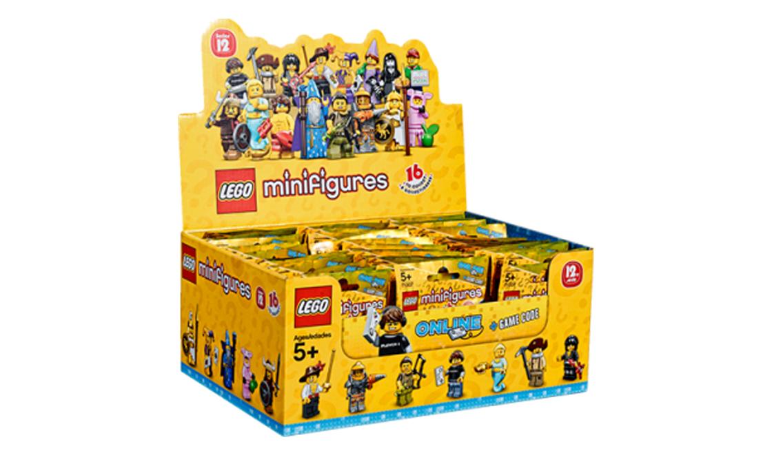 LEGO Minifigures Упаковка фигурок из 60 штук (71007-19)