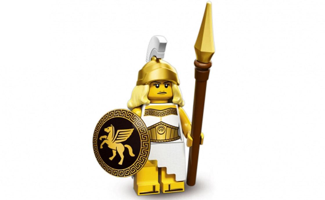 LEGO Minifigures Женщина-воин (71007-5)