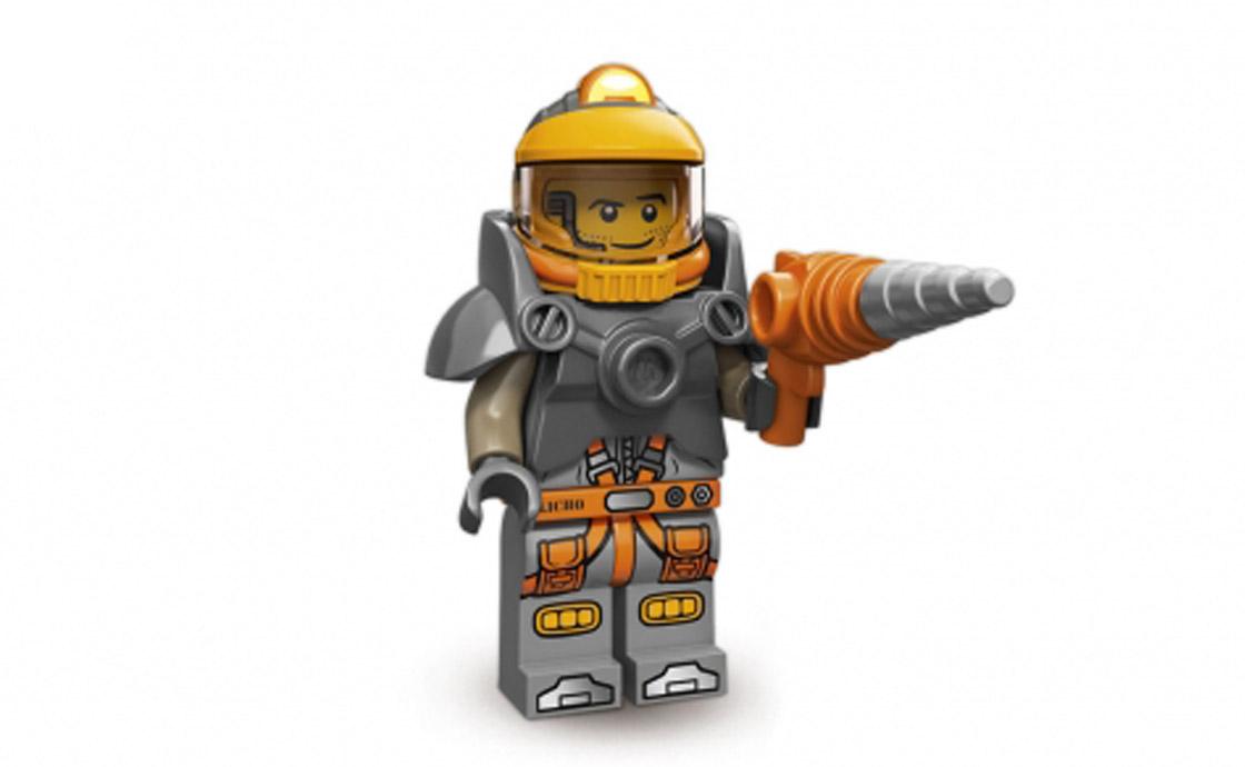 LEGO Minifigures Космический шахтёр (71007-6)