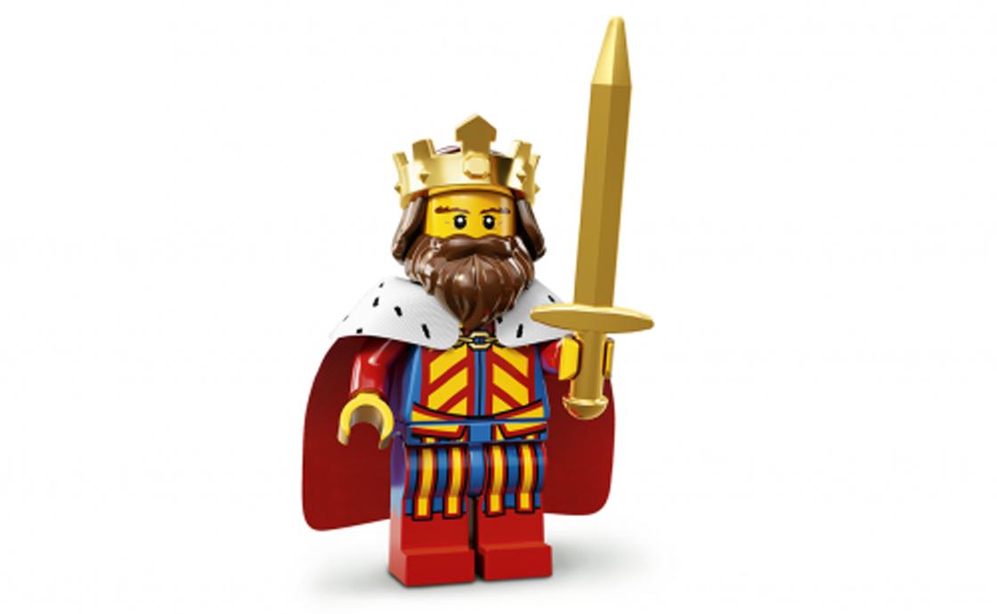 LEGO Minifigures Король (71008-1)