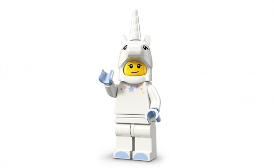 LEGO Minifigures Девушка в костюме единорога (71008-3)