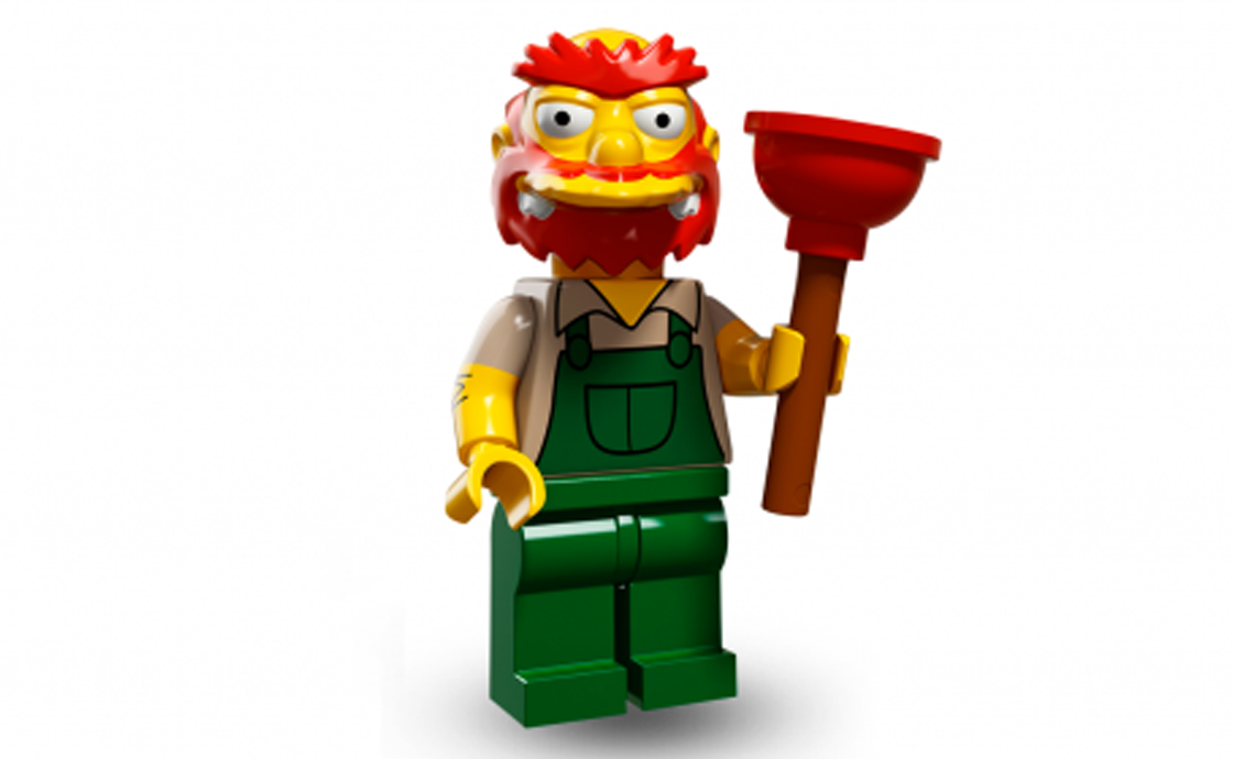 LEGO Minifigures Вилли (71009-13)