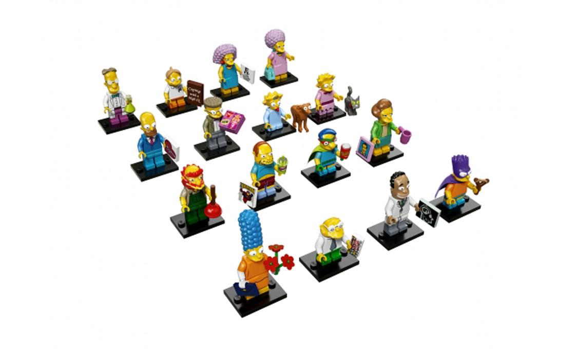 LEGO Minifigures Коллекция из 16 штук (71009-18)