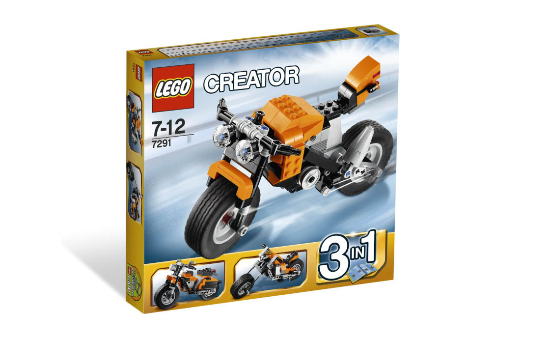 LEGO Creator Уличный Мятежник (7291)