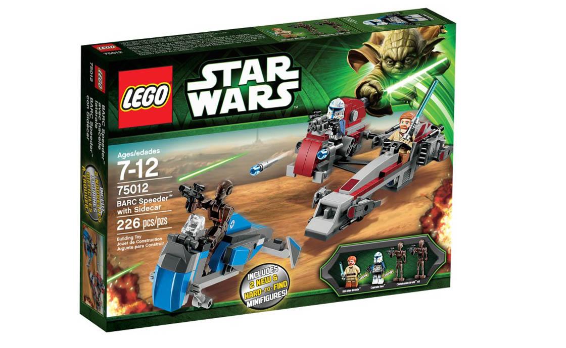 LEGO Star Wars Спидер BARC с боковым сиденьем (75012)