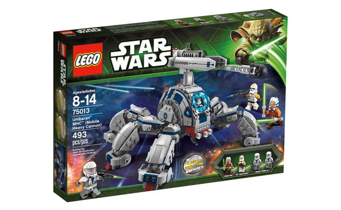 LEGO Star Wars Мобильная тяжёлая пушка (75013)