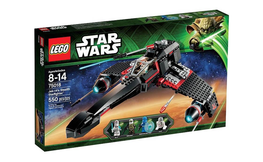 LEGO Star Wars Секретный корабль воина Jek-14 (75018)