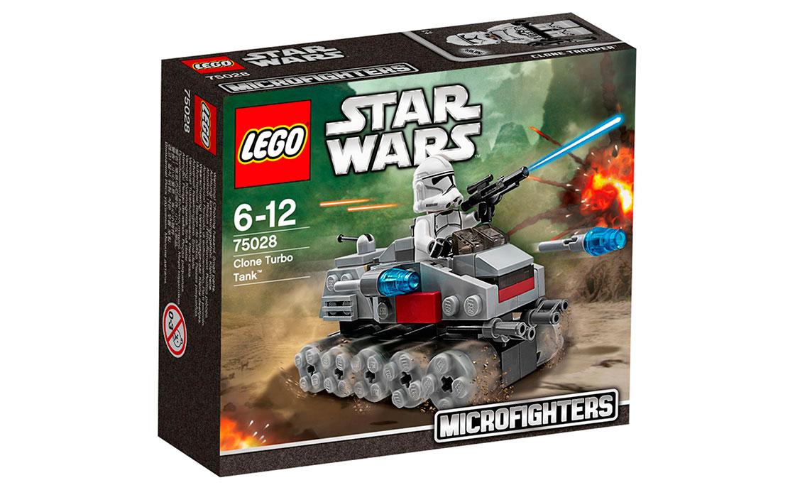 LEGO Star Wars Турбо-танк клонов (75028)