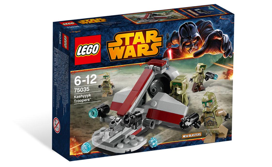 LEGO Star Wars Kashyyk Troopers (75035)