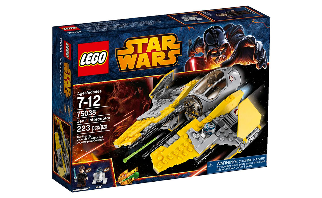 LEGO Star Wars Jedi Interceptor (75038)