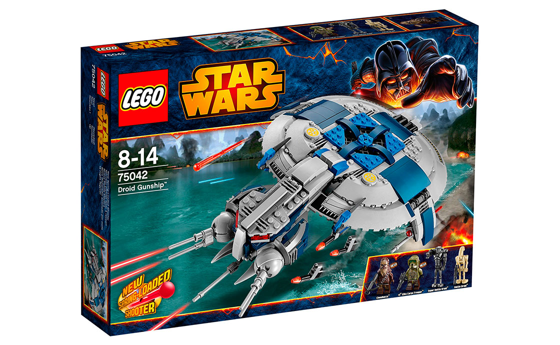 LEGO Star Wars Дроид - истребитель (75042)