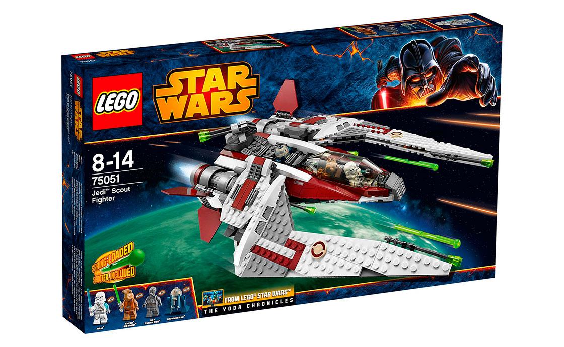 LEGO Star Wars Разведчик-истребитель Джедаев (75051)