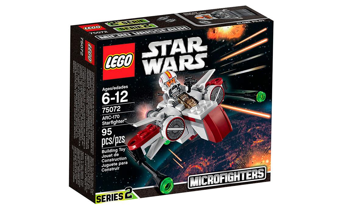 LEGO Star Wars Старфайтер ARC-170 (75072)