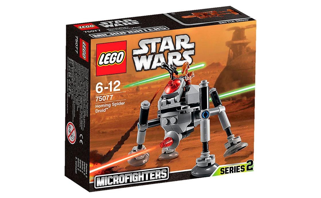 LEGO Star Wars Наводящийся дроид-паук (75077)