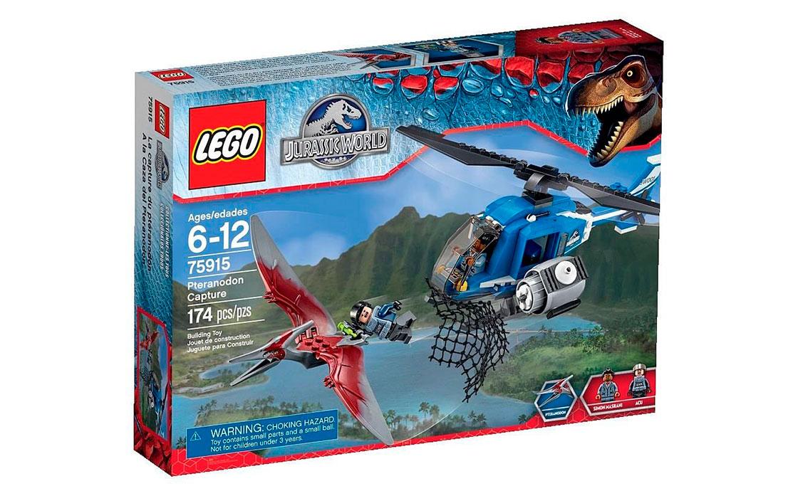 LEGO Jurassic World Охота за птеранодоном (75915)