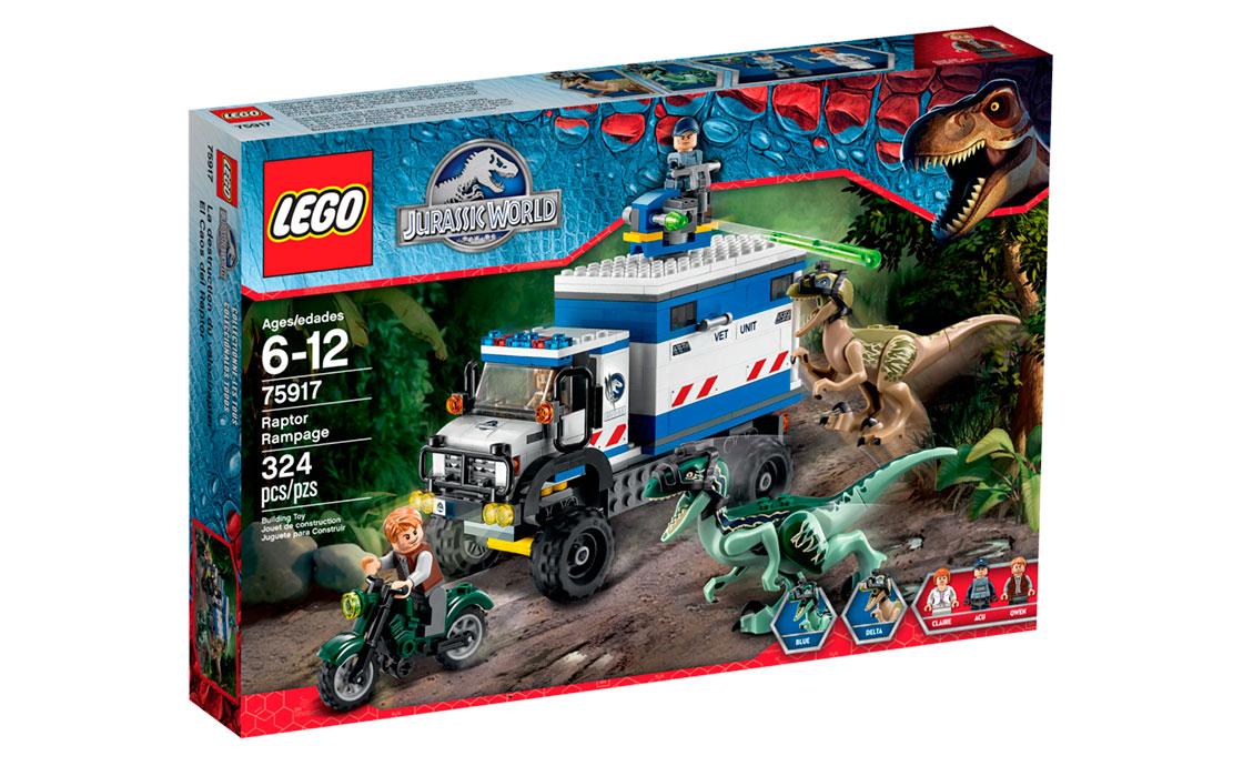 LEGO Jurassic World Гнев Раптора (75917)