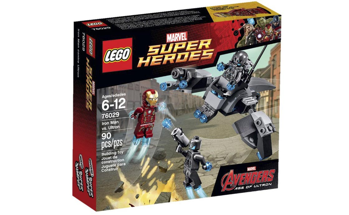 LEGO Super Heroes Железный Человек против Альтрона (76029)