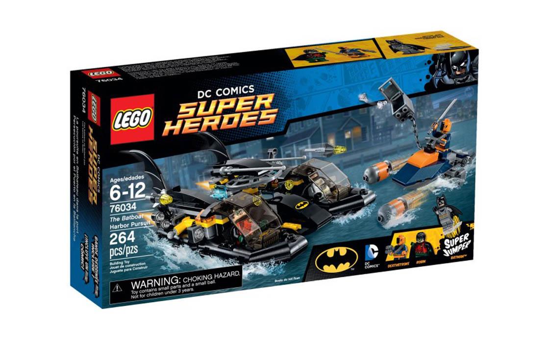 LEGO Super Heroes Беткатер: гонитва в затоці (76034)
