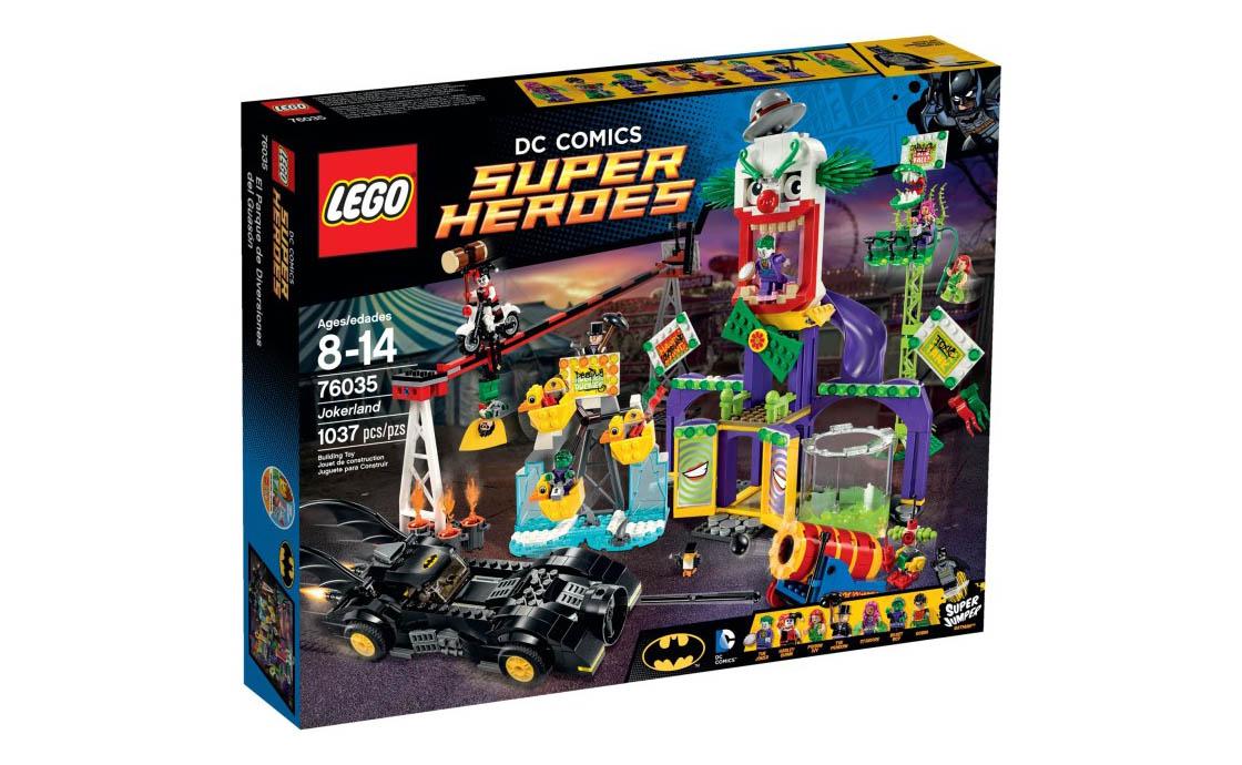 LEGO Super Heroes Джокерленд (76035)