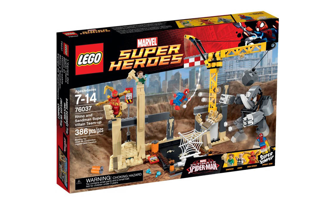 LEGO Super Heroes Команда супер-лиходіїв: Носоріг і Сендман (76037)