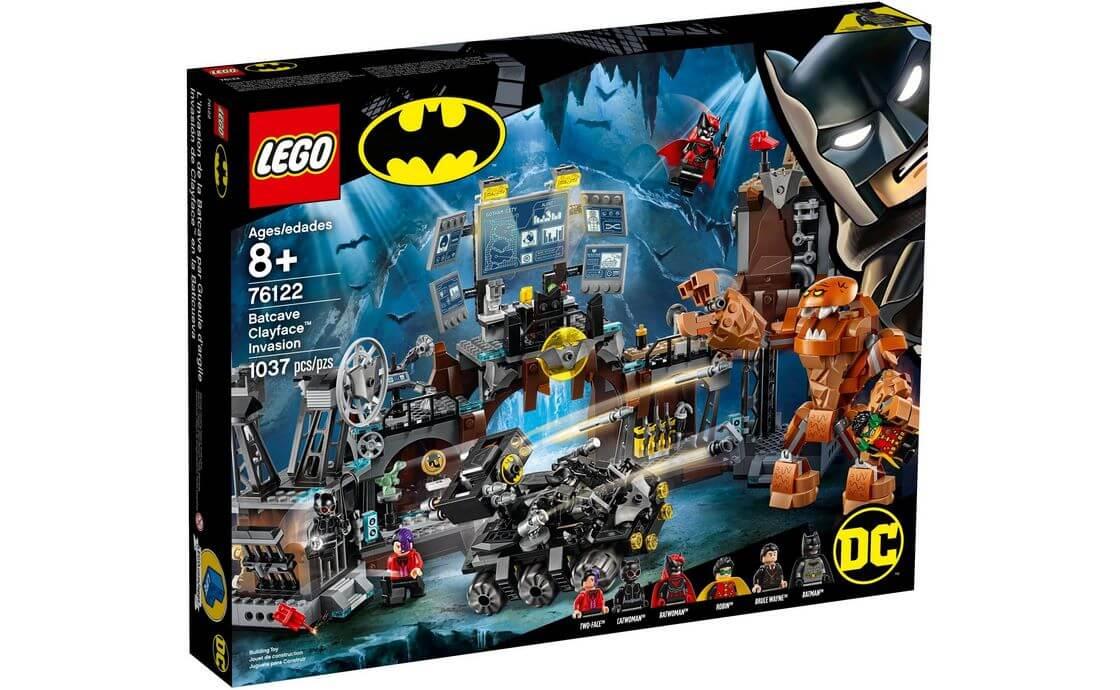 LEGO Super Heroes Вторжение Глиноликого в бэт-пещеру (76122)