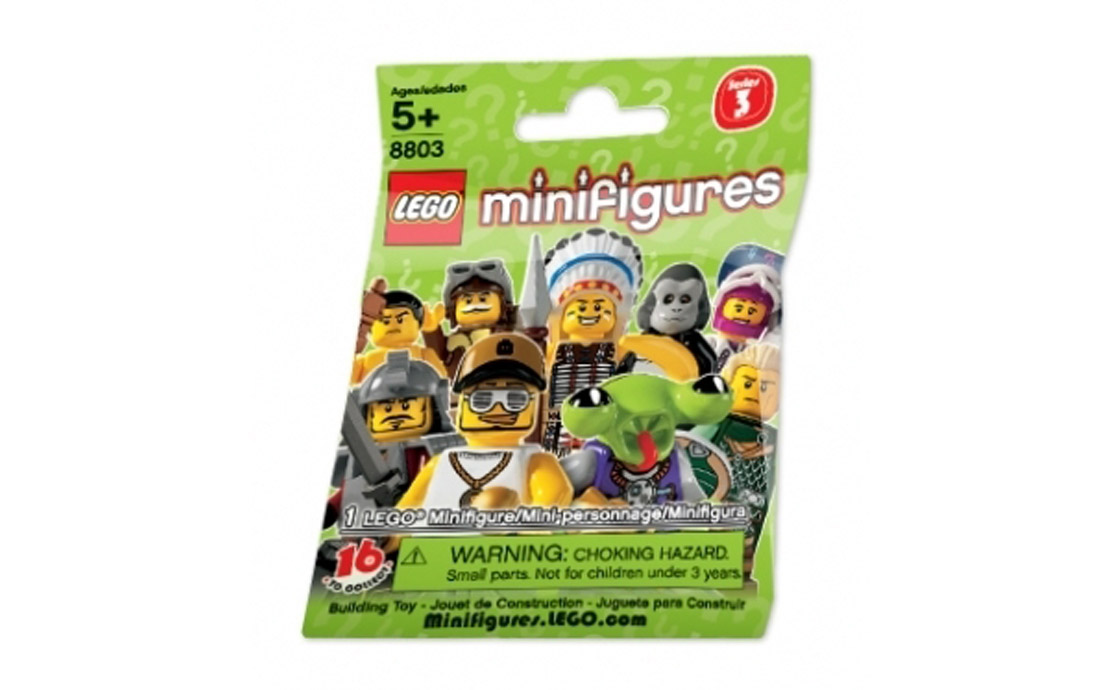 LEGO Minifigures Случайная минифигурка 3 серии 8803 (8803)