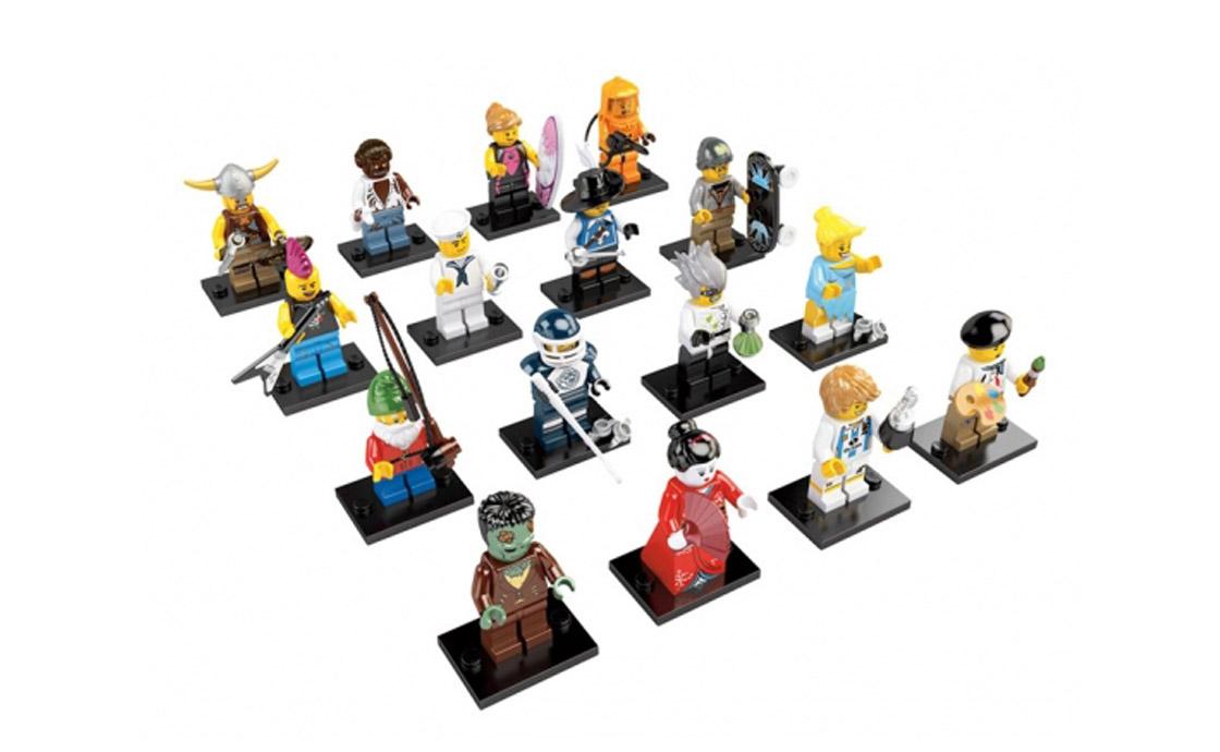 LEGO Minifigures Серия 4: полная коллекция (8804_1)