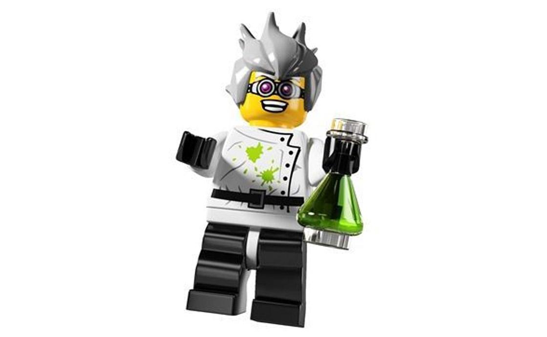 LEGO Minifigures Сумасшедший ученый (8804-16)