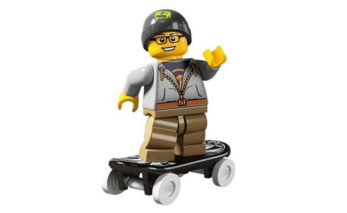 LEGO Minifigures Скейтбордист (8804-9)
