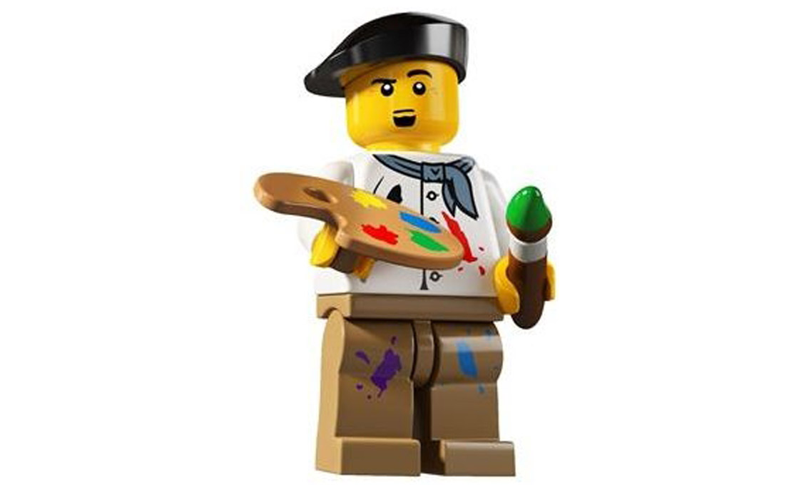 LEGO Minifigures Художник (8804-14)