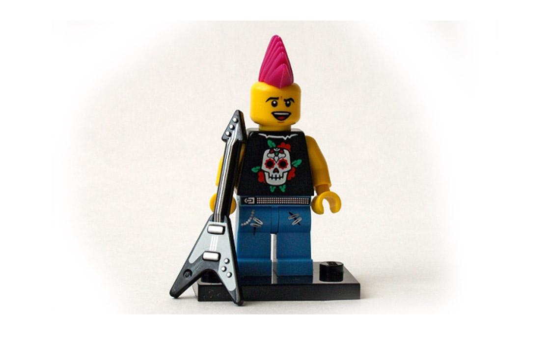 LEGO Minifigures Панк с гитарой (8804-4)