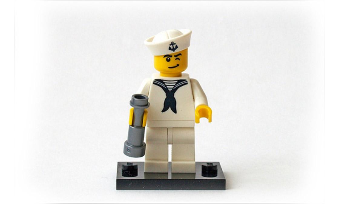 LEGO Minifigures Моряк (8804-10)