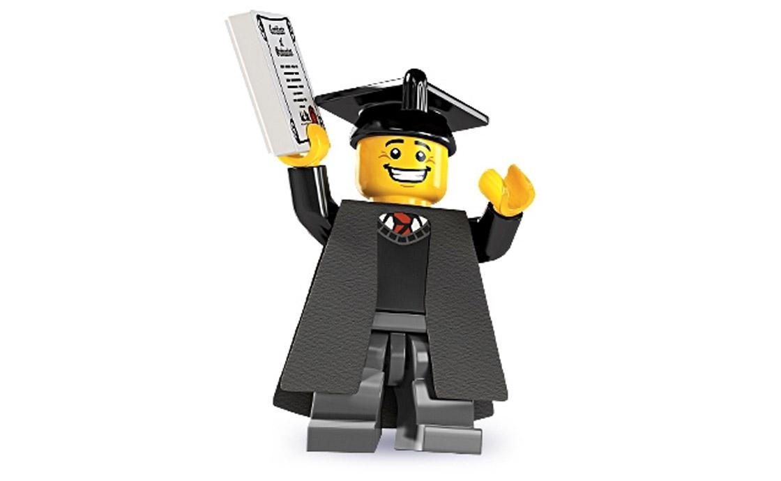 LEGO Minifigures Выпускник (8805-1)