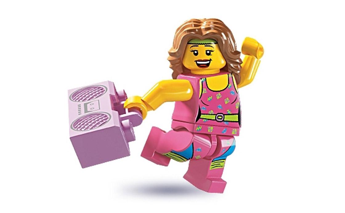 LEGO Minifigures Инструктор по фитнесу (8805-10)