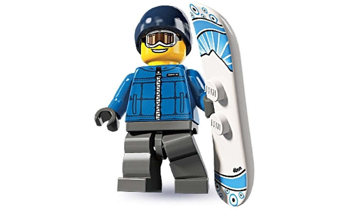 LEGO Minifigures Сноубордист (8805-17)