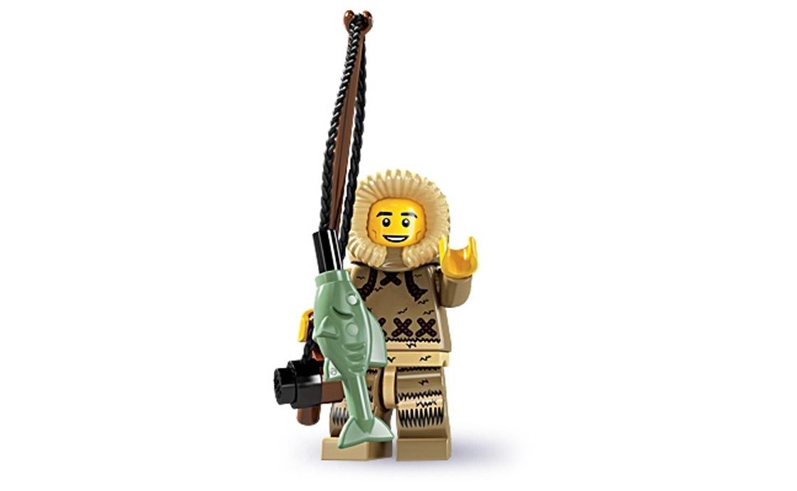 LEGO Minifigures Полярный рыбак (8805-4)